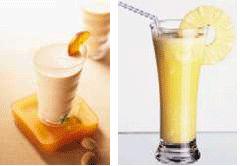 cocktail à base d'ananas
