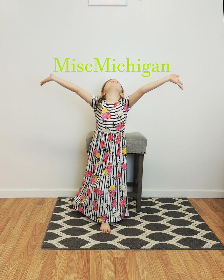 Toddler Maxi Dress, Toddler Spring Dress, Toddler Clothes, Girls Black Dress, Maxi Dress, Striped Floral Maxi Dress by miscMichigan on Etsy https://www.etsy.com/listing/579548300/toddler-maxi-dress-toddler-spring-dress