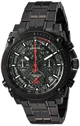 Bulova Men's 'Precisionist' Quartz Stainless Steel Automatic Watch, Color:Black (Model: 98B257) https://www.carrywatches.com/product/bulova-mens-precisionist-quartz-stainless-steel-automatic-watch-colorblack-model-98b257/ Bulova Men's 'Precisionist' Quartz Stainless Steel Automatic Watch, Color:Black (Model: 98B257)  #blackbulovawatch #bulovaautomatic #bulovachronograph...