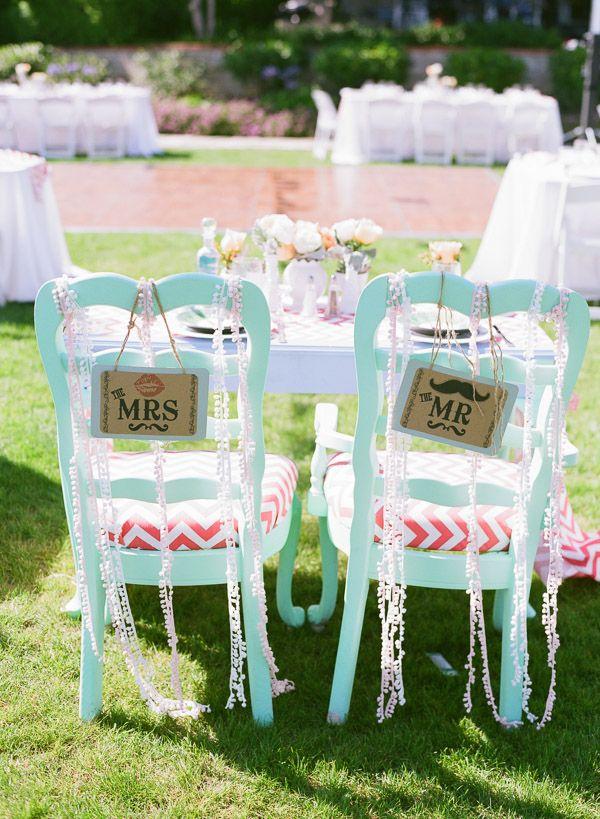 Mint wedding theme peach wedding theme beach wedding sweetheart table www.LoveShineBridal.etsy.com