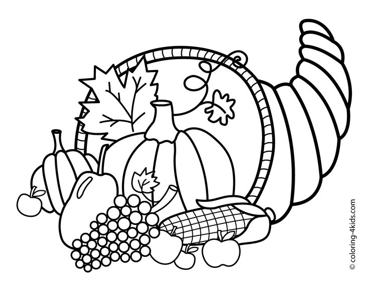 turky coloring pages 4 kids - photo#4