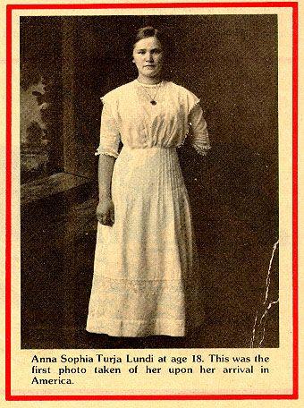 Anna Sofia Turja - 3rd class Titanic survivor