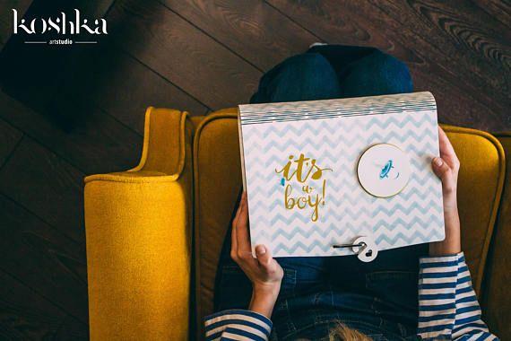Memory Box Baby Keepsake Box Baby Shower Box New Baby Box