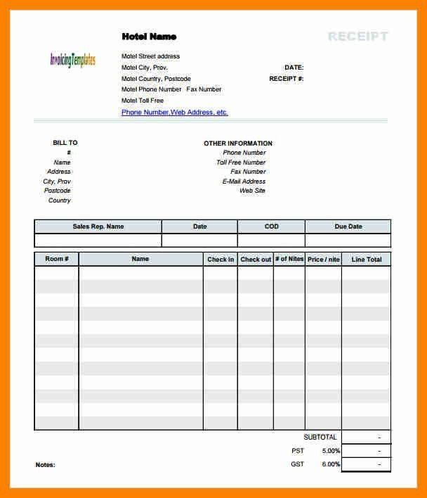 Hotel Bill Format Lodge Bill Format In Word 8 Hotel Bill Invoice Format Beverage Invoice Template Word Invoice Template Invoice Format