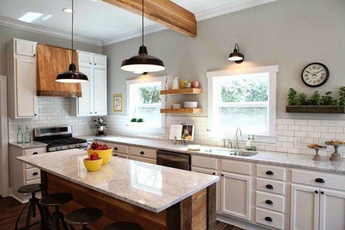 Kitchen Island Lighting Farmhouse Joanna Gaines
