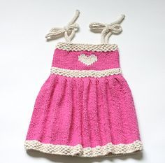 Ravelry: Fiona Baby Sundress FREE knitting pattern by Staci Perry