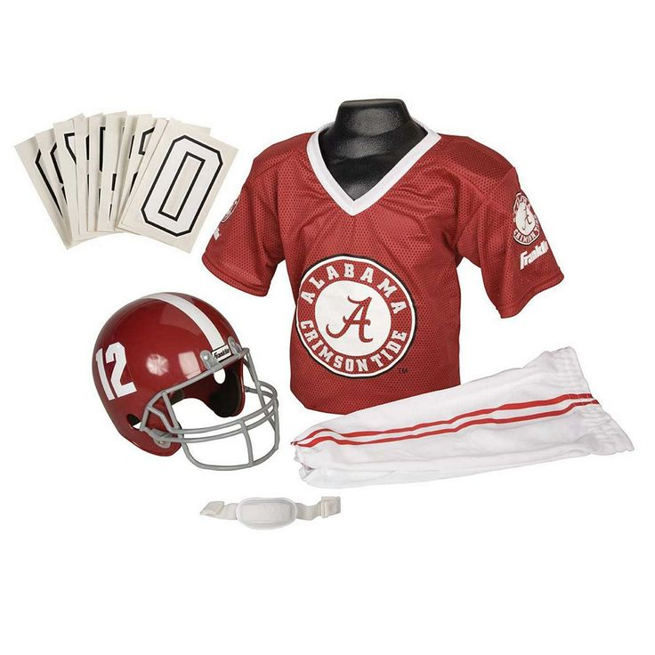 Franklin Alabama Crimson Tide Football Uniform - Kids, Boy's, Size: Medium, Multicolor