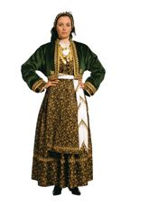 Greek Traditional Ethnic Folklore Costumes made in Hellas Greece by Stamco