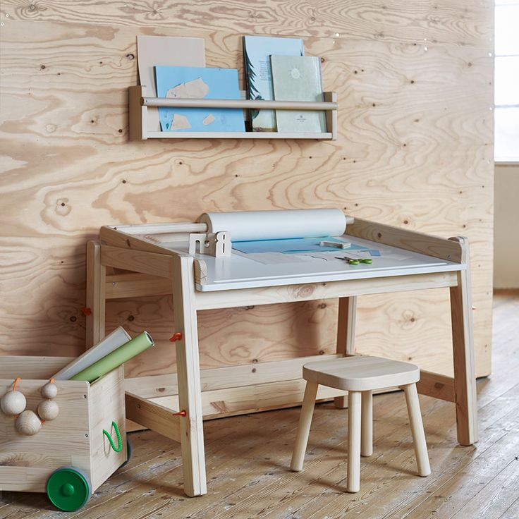 IKEA press | FLISAT Collection for kids April 2016 | via Elle Decoration