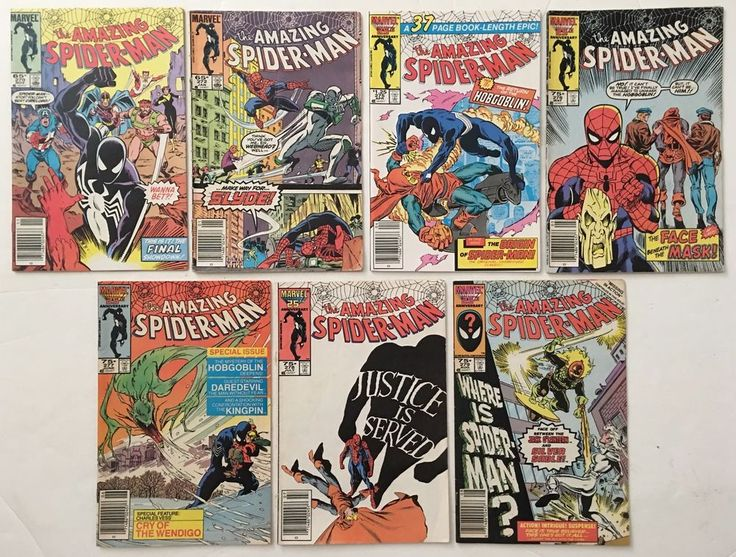 The Amazing Spider-Man #s 270 272 275 276 277 278 279 Lot of 7 Marvel Comics  Lots of #AmazingSpiderMan #comicbooks available to buy online!  #superhero #spiderman #spidermanhomecoming