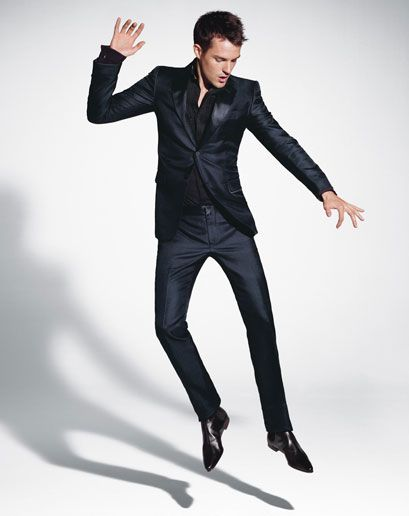 brandon flowers is wonderful. can't say no to a man in a slim suit.