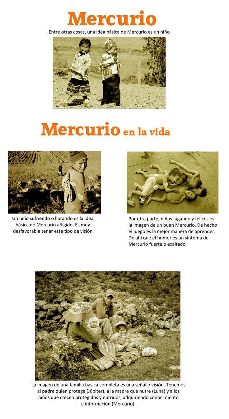 ASTROLOGÍA en IMÁGENES: Veamos ahora algo sobre Mercurio o Budha, como su nombre en sánscrito lo indica: Inteligencia.