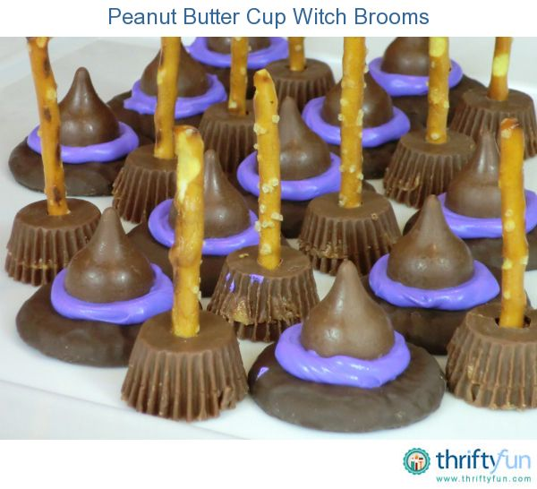 Halloween Witch Hat and Broom Treats Easy and very cute!  For a healthier treat make homemade energy bites with Vi shake mix order at http://cdequaine.myvi.net and even lose weight!