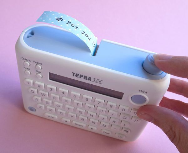 King Jim Tepra Lite Label Printer Review Super Cute Kawaii Cool Things To Buy Cool School Supplies Cool Gadgets To Buy
