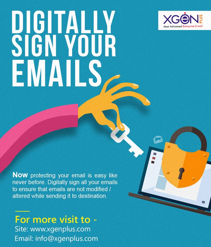 Yes Getting your Email Signed Digitally is Easy Now Digitally sign your emails and get your email protected from any modification and alteration while sending. To know more visit us at: http://www.xgenplus.com/security-encryption Our website: www.xgenplus.com Stay connected with us at our social channels #Xgenplus #Enterpriseemailsolution #digitalsignature #emailprotection #buynow #followus
