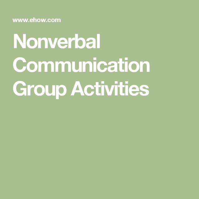 nonverbal experiments What are you saying with nonverbal communication different cultures have different meanings for facial expressions, head movements, hand and arm gestures, physical.