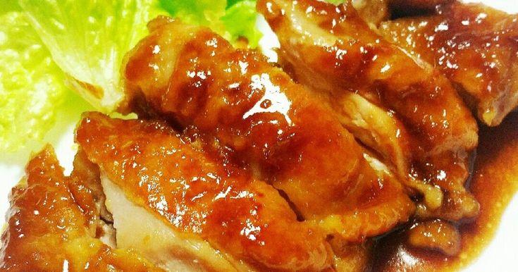 鶏ももで♡ガーリック照り焼きチキン♡ by カレンガール [クックパッド] 簡単おいしいみんなのレシピが247万品
