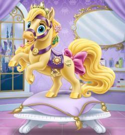 BLONDIE (mascota de Rapunzel)