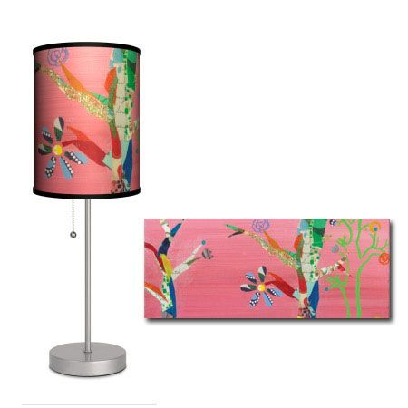 Trees Art Lamp