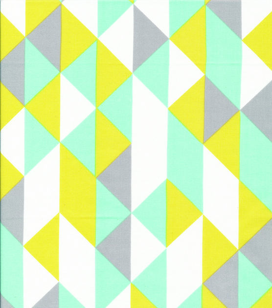 Cloud 9 Premium Quilt Fabric On Point Minty