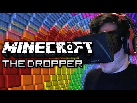 Minecraft: The Dropper - PLAYED WITH OCULUS RIFT! Part 1 - FREE FALLING - YouTube