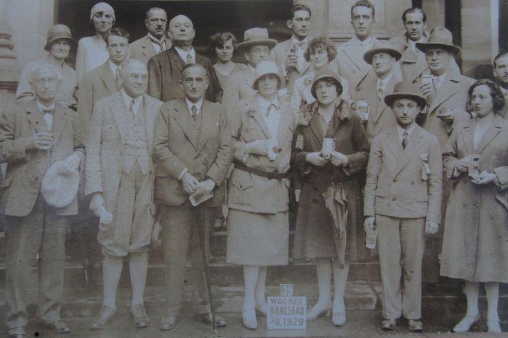 Karlsbad, 5 august 1929
