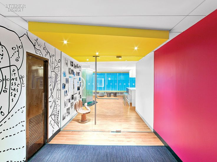 5 Firms Design Viacoms Midtown NYC Headquarters Commercial InteriorsCommercial