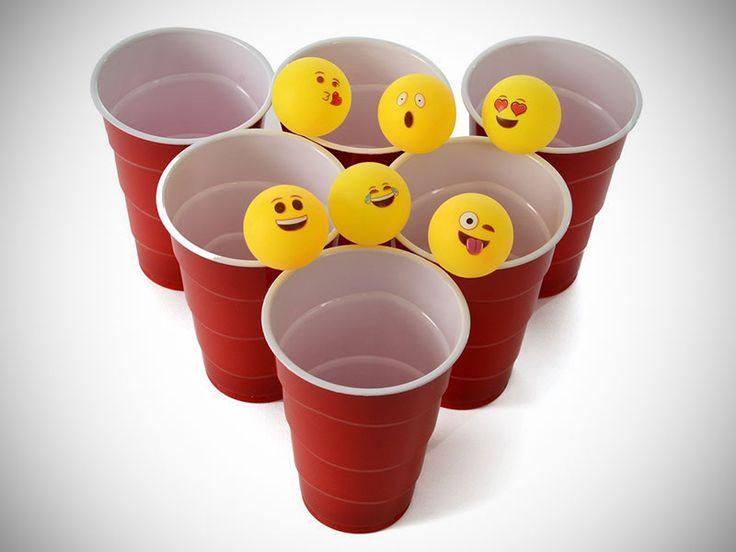 Emoji Beer Pong Balls - MadeofMillions.com