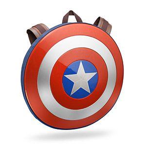 Captain America: Civil War Shield Backpack | ThinkGeek