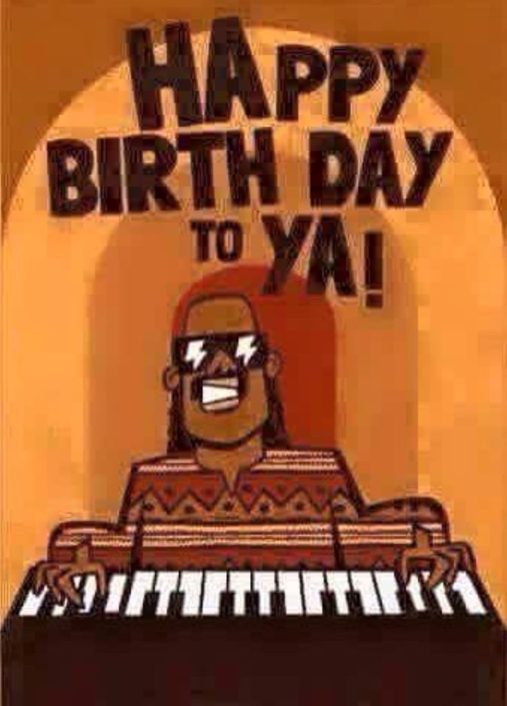 Stevie Wonder- happy birthday to ya
