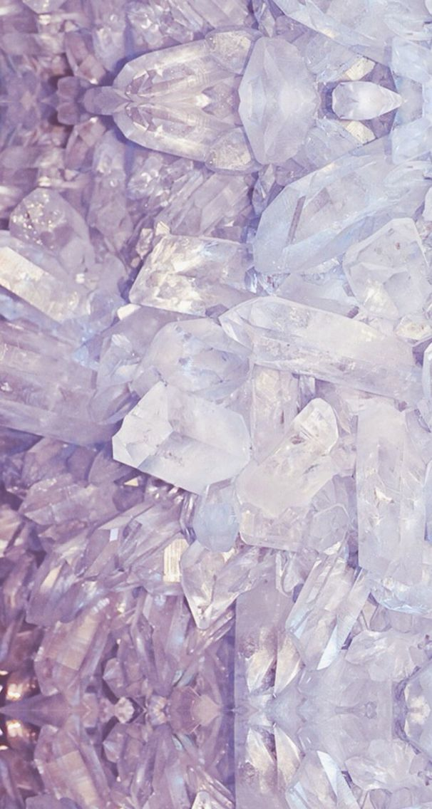 Pink and purple quartz stones iphone wallpaper | Iphone ...