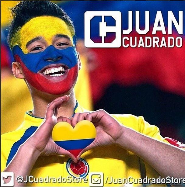 La tienda de ropa de @cuadrado11  crack de nuestra selección colombia ✌️