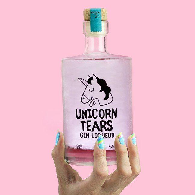 Unicorn Tears Gin Liqueur   Firebox.com - Shop for the Unusual