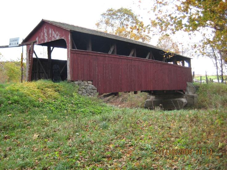 covered bridge in Penn