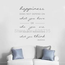 #quote #quotes #happiness #life #buddha #wallquote #wallsticker #decor #stickers #thinking #positivethinking