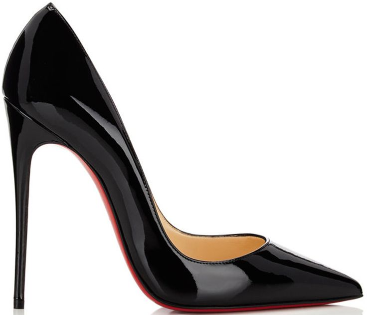 Christian Louboutin 'So Kate' Black Patent Leather Pump - Buy Online - Designer Pumps
