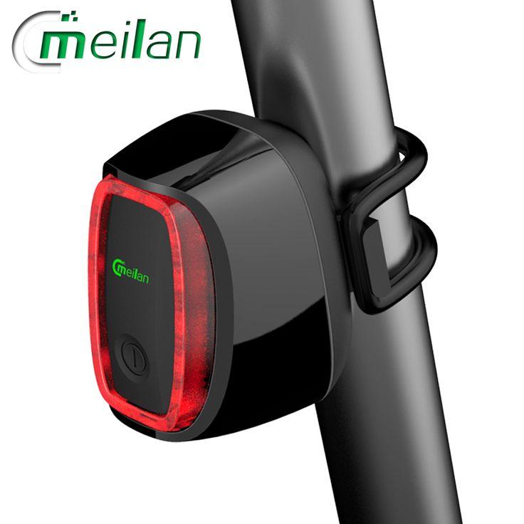 Meilan X6 Smart Bike Light Bicycle rear back led Light  rechargeable CE RHOS FCC MSDS Certification * Chtoby prosmotret' dal'she po etomu punktu, pereydite po sleduyushchey ssylke izobrazheniya.