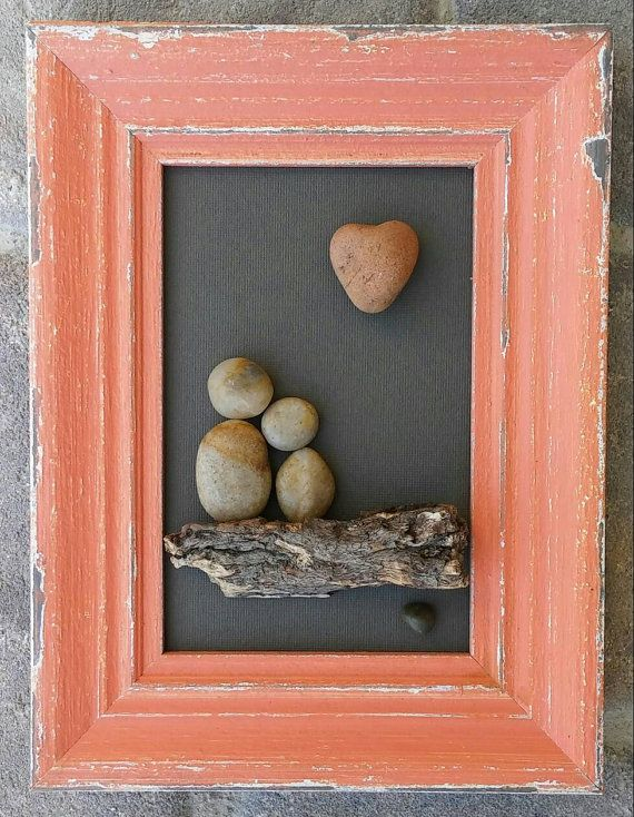 Check out this item in my Etsy shop https://www.etsy.com/listing/397885855/pebble-art-couple-under-a-heart-set-in