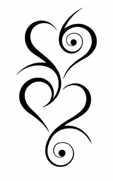 3 hartjes tattoo - Google zoeken
