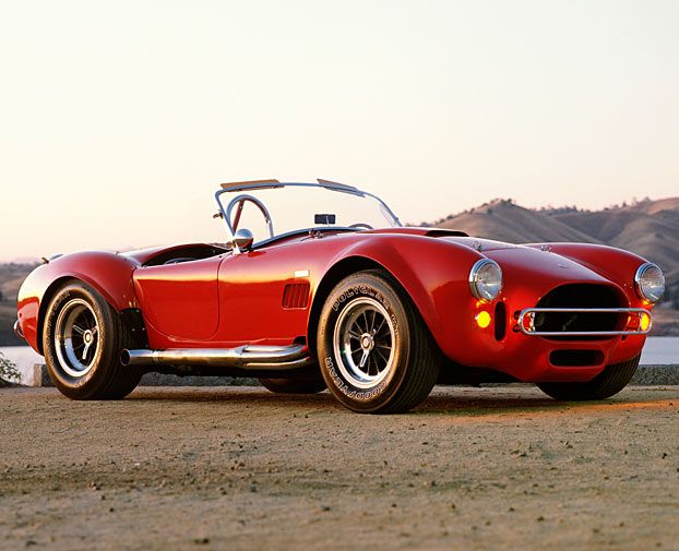 Top Classic Sports Cars of all Time: Shelby Cobra