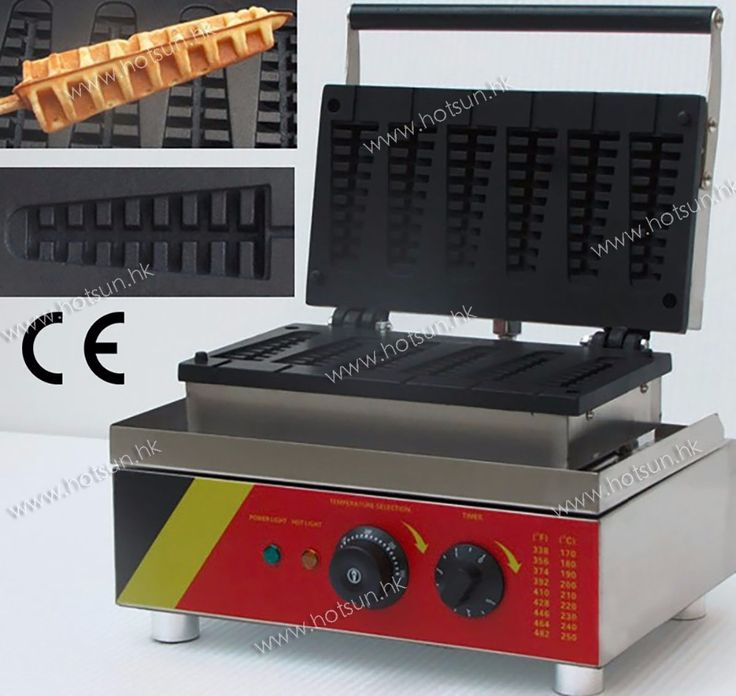130.00$  Buy now - http://alirka.worldwells.pw/go.php?t=32711548662 - Commercial Electric 110V 220V Nonstick Lolly Waffle Stick Maker Iron Machine Baker 130.00$
