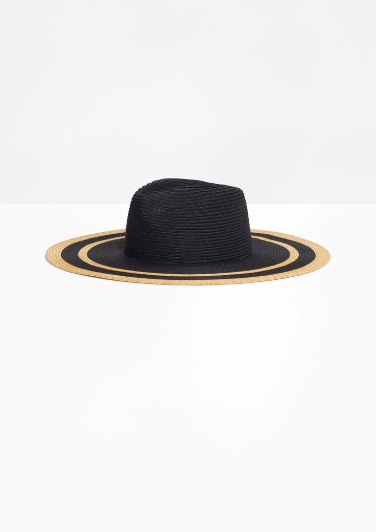 & Other Stories   Floppy Straw Hat