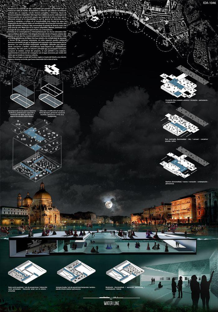 Galería de Estudiantes de España, Uruguay y Chile entre los ganadores del concurso Island of Arts de Venecia I Presentation Boards I