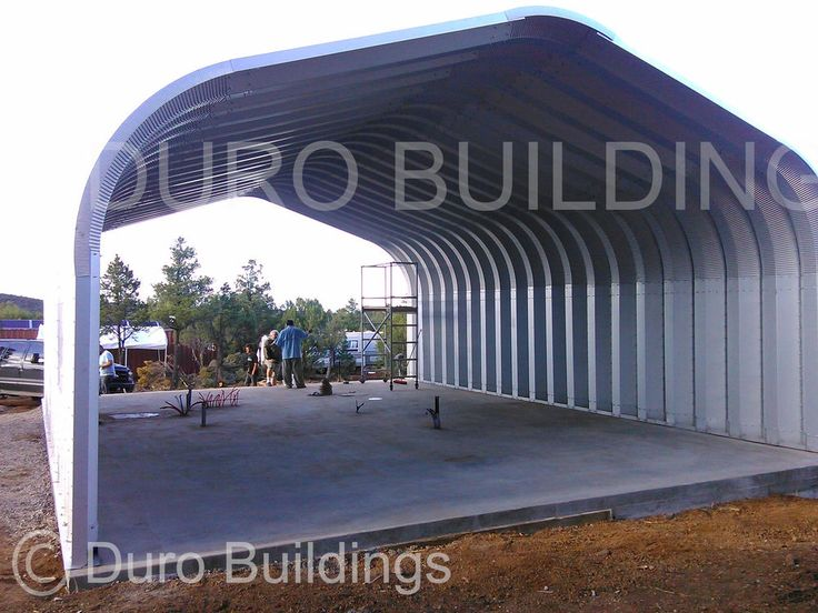 Durospan steel 30x20x16 metal custom building kit
