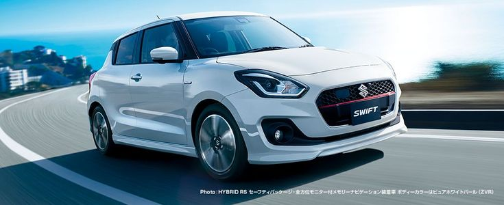 New Suzuki Swift Gains Two Accessory Packs In Japan