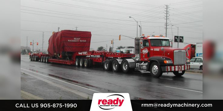 Ready Machinery & Equipment offers HeavyEquipmentTransport and MachineRelocation. To know more about our services, call us at 1-800-211-2500.