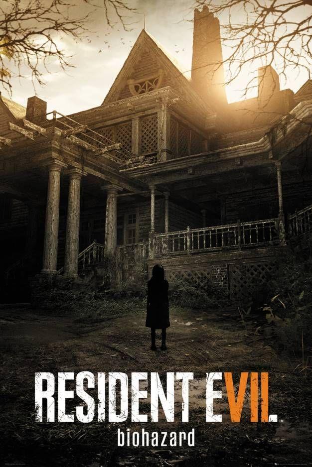 Resident Evil 7 Key Art Maxi Poster