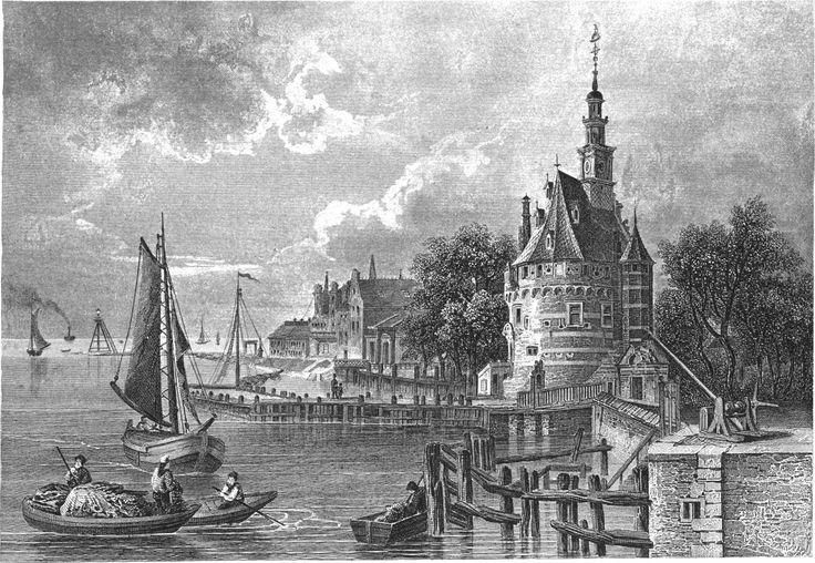 Geschiedenis, Hoorn, Tekening, Haven (merel)