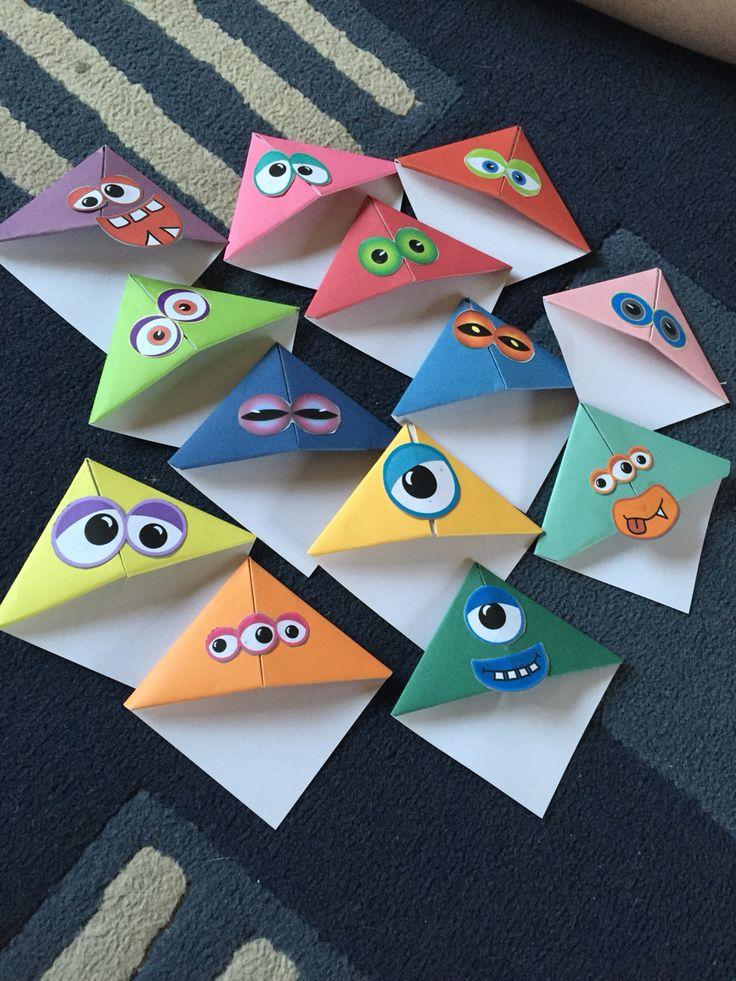 Monster bookmarks