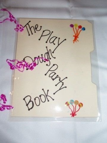 Use playdoh to work the pages.